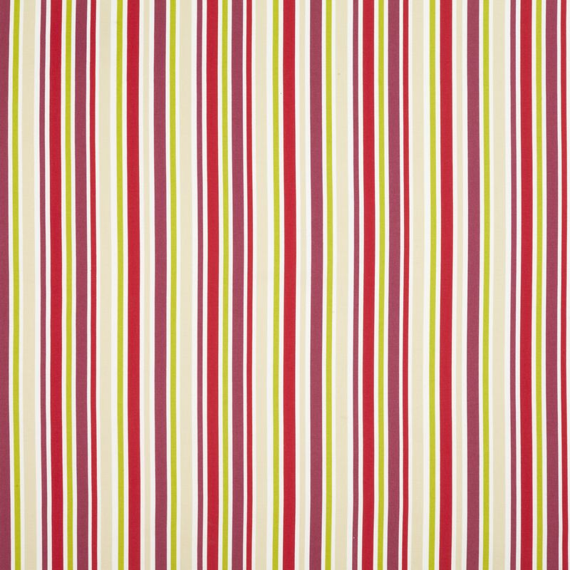 Candy striped curtains